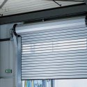 Black Doorhan Insulated Sectional Door