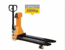 Hand Pallet Truck With Electronic Weighing Scale ( EWS )