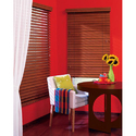 Chalet Wood Blinds Dining Room