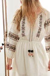 Ukrainian Embroidery Dresses