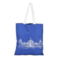 Fabric Handle Earthyybags Printed Cotton Shopping Bag, Size: Custom, Capacity: 2.5 Kg