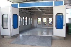 Industrial Paint Spray Booth