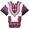 Cotton Dashiki Dress