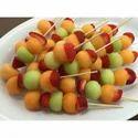 Bamboo Brown Fruit Skewers, Diameter: 2-6 Mm