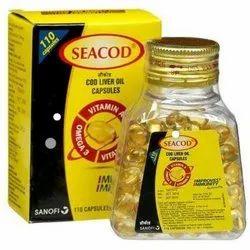 Seacod Cod Liver Oil Softgel Capsules
