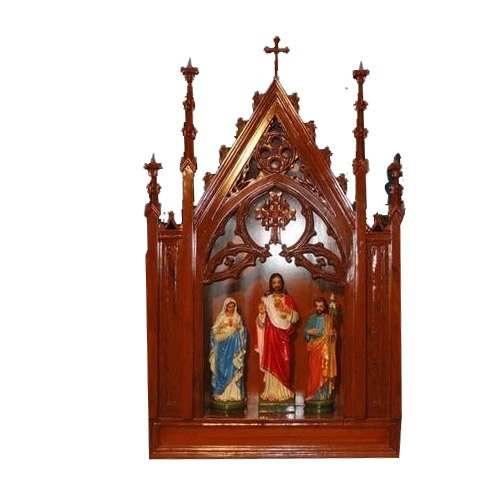 Wooden And Fiber House Altar, लकड़ी के हस्तशिल्प, वुडन