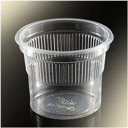 Transparent Plain Plastic Disposable Tea Glass