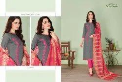 Vishnu Present Treesha Vol 6 South Cotton Traditional Wear Salwar Suit