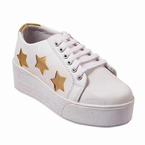 Synthetic White Women Sneaker 264bcba09