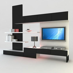 Tv Wall Unit at Rs 35400 piece Tv Wall Unit ID 15711437512