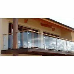 Aluminium Glass Railings