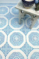 Sandblast Floor Tiles