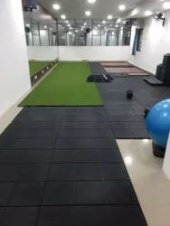 18 mm thick Easy Fix Gym Mat - ULTRA Heavy duty (Inter-Connecting & Portable With WARRANTY)