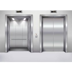 Stainless Steel Wittur Elevator Door, Telescopic