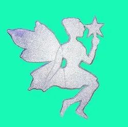 Silver And Golden 3d Thermocol Cutout