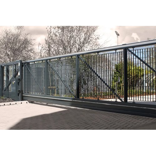 Ms Powder Coated Automatic Sliding Gate System Rs 45000