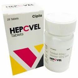 Sofosbuvir 400 mg Velpatasvir 100 mg Tablets