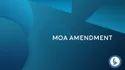 Moa Amendment Legal Document