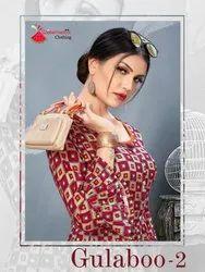 Watermelon Clothing Gulaboo Vol-2 Rayon Kurti Catalog Collection at Textile Mall Surat