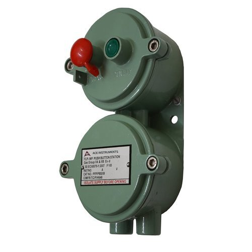 Flameproof Push Button Station At Rs 1400   Piece