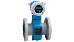 Grey & Blue Endress Hauser Flow Meters