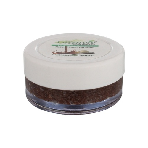 Greenviv Natural Chocolate and Vanilla Lip Scrub, Pack Size: 5gm, Type Of Packing: Jar