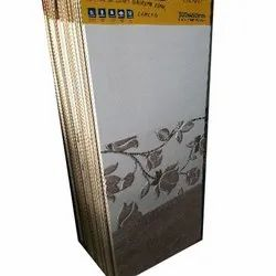 Rectangle Floral Design Ceramic Tile, Packaging Type: Box, Thickness: 10-15 mm