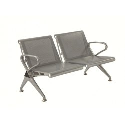 Two Seater Waiting Area Chair