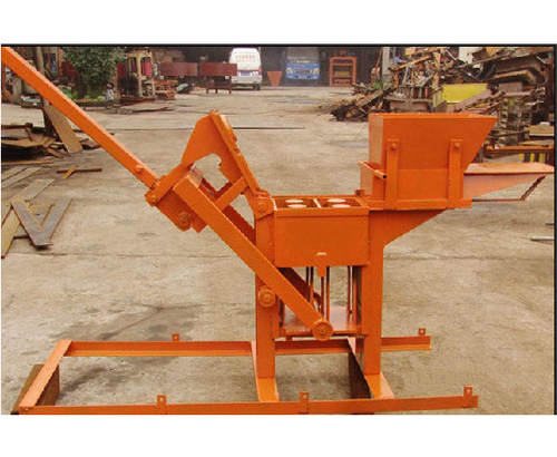 Manual Operated Concrete Block Making Machine Capacity
