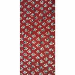 Dabu Hand Block Cotton Fabric, Floral, Multicolour