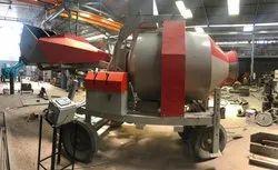 Weber Revers Drum Mixer Diesel Operated