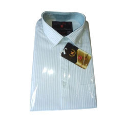 Victoria Classic Formal Mens Striped Shirt