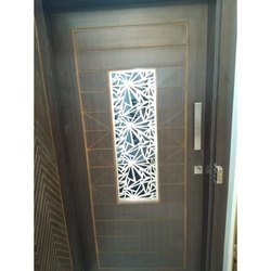 Brush Finish Stainless Steel Door Grill