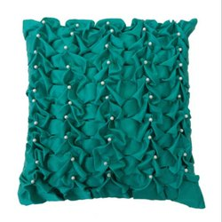 Fancy Beaded Pillow Cover