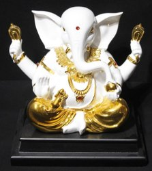 Gold Plated Ganesh Ji No 8
