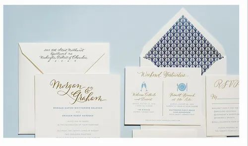 Marriage Invitation Printing Services