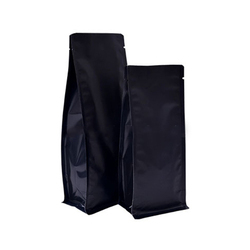 Matt Black Pouches Without Zipper