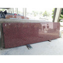 Granite Stone 15-20 Mm Gem Red Granite Slabs, Usage/application: Flooring
