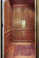 6 Elevators In Wooden Finish