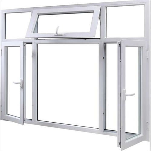 Rectangular White Aluminium Window Frame, Rs 180 /square feet ...