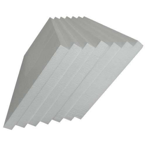White Rigid Thermocol Sheets for Cold Insulation
