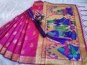 Paithani Silk Weaving Designer Saree.