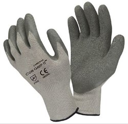 Top Fit Grey Color Gloves