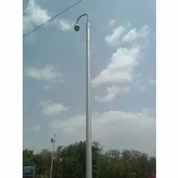 Smart City Surveillance Pole