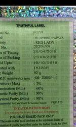 Red Lady Papaya Seeds Taiwan 786