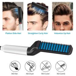 Beard and Hair Straightener for Men for Household