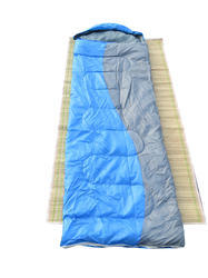 Travelling Camping Trekking Outdoor Sleeping Bag-Blue/Grey