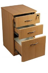 Chest of Drawer / Storage / Wooden Organizer Pedestal