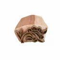 Modern Floral Wooden Printing Block