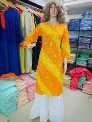 Jaipuri Bandhani Suit